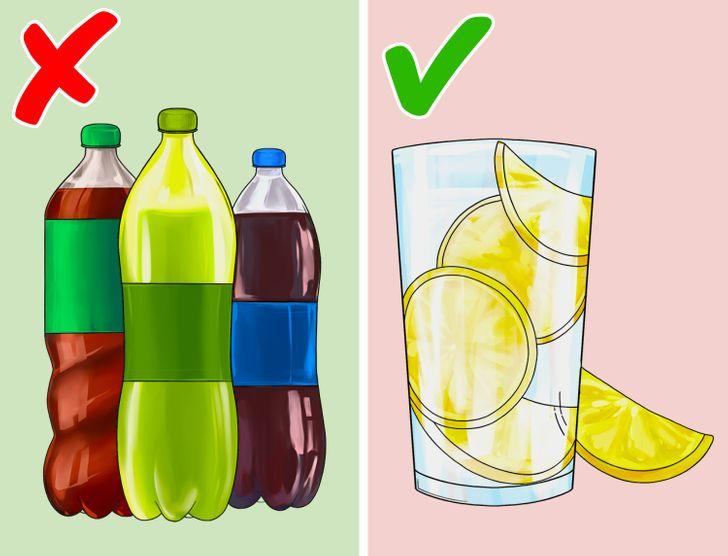 ανθρακούχα ποτά και κοιλιά