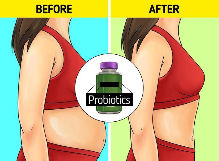 προβιοτικά και επίπεδη κοιλιά